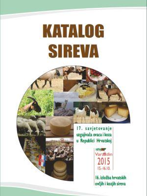 Katalog Državne izložbe ovčjih i kozjih sireva, Varaždin 2015.
