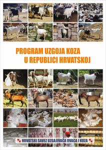 Program uzgoja koza - naslovnica